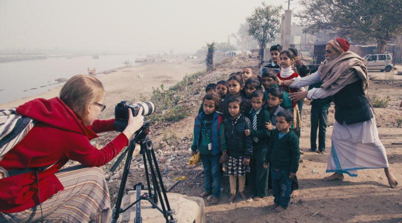 дети, Вриндаван, Индия