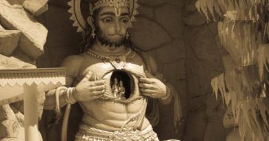 Хануман. Ришикеш. Индия