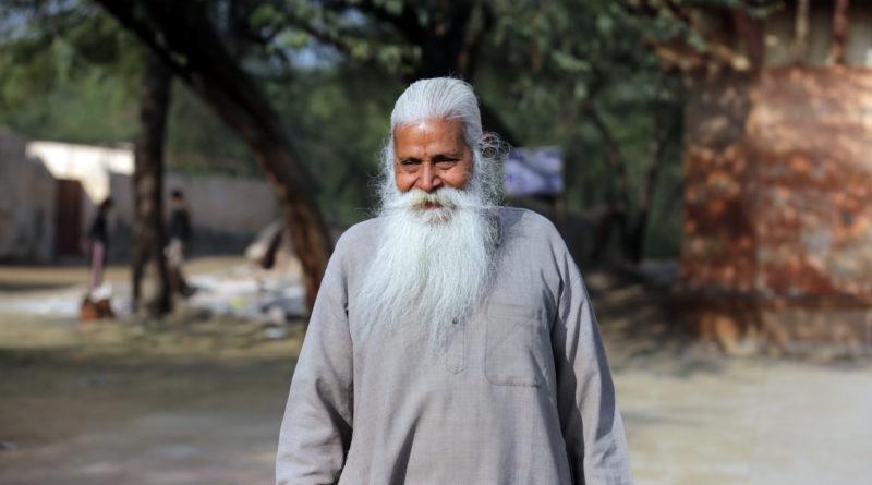 Старец. Вриндаван. Индия
