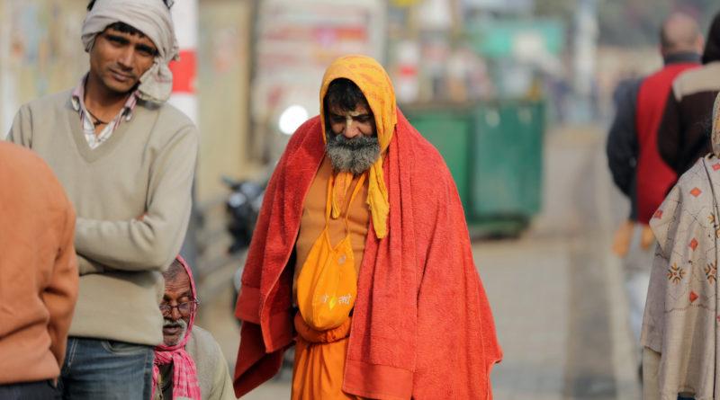 Садху во Вриндаване. Индия