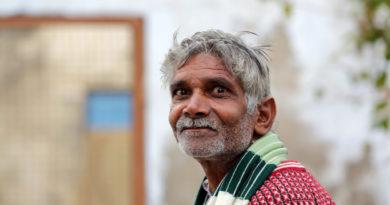 Бриджабаси Вриндавана. Индия