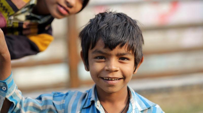 Дети во Вриндаване. Индия
