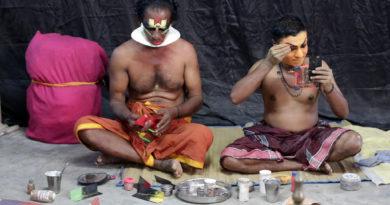 Театр Катха-Кали. Керала. Индия
