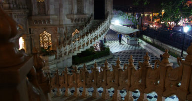 Кришна-Баларам мандир. Вриндаван. Индия
