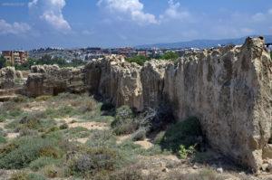 Царские гробницы. Вид на Пафос. Кипр