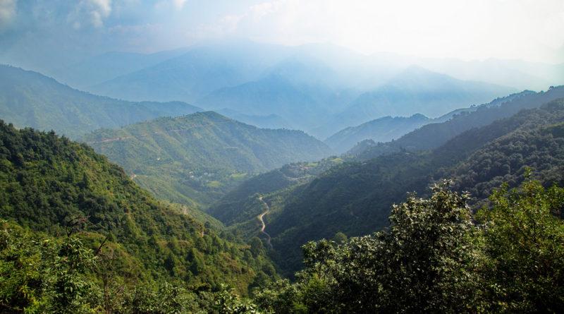 Дорога в Гималаи. Индия