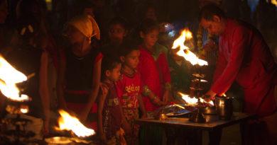 Поклонение Ганге. Индия