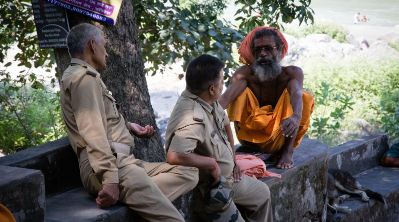 Беседа. Ришикеш. Индия