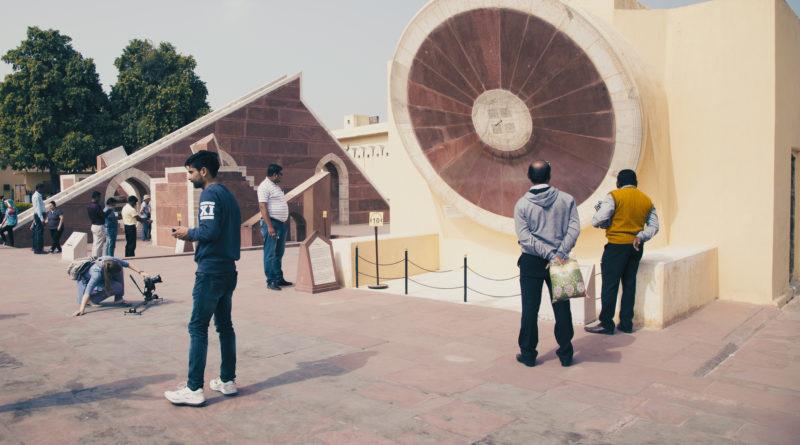 Астрологическая обсерватория Джантар-Мантар. Джайпур. Индия