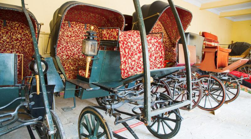 Царские кареты. Джайпур. Индия