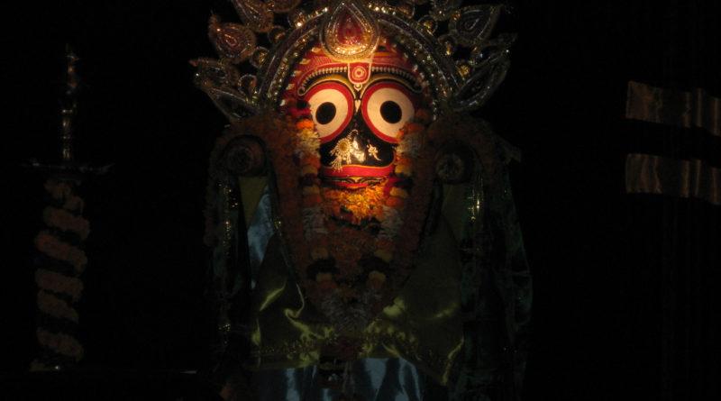Божество Джаганнатха. Индия