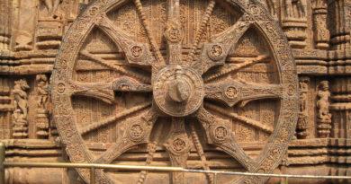 Колесо самсары. Храм Солнца. Индия