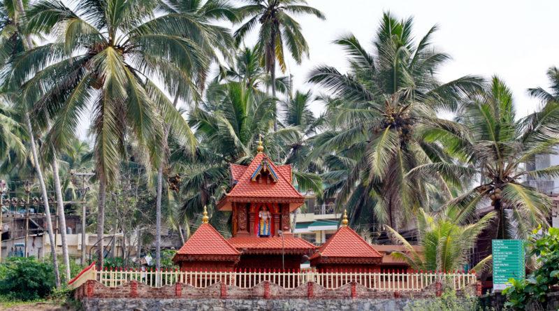 Храм в лесу. Варкала. Индия