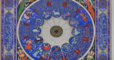 Астрологическое панно в Средней Азии