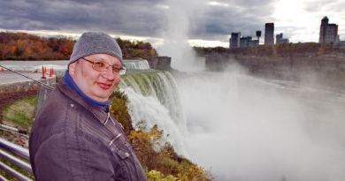 Ниагарский водопад, США, Америка, Рузов