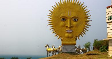 Солнце, колесница, Индия