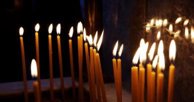 свечи, храм, память
