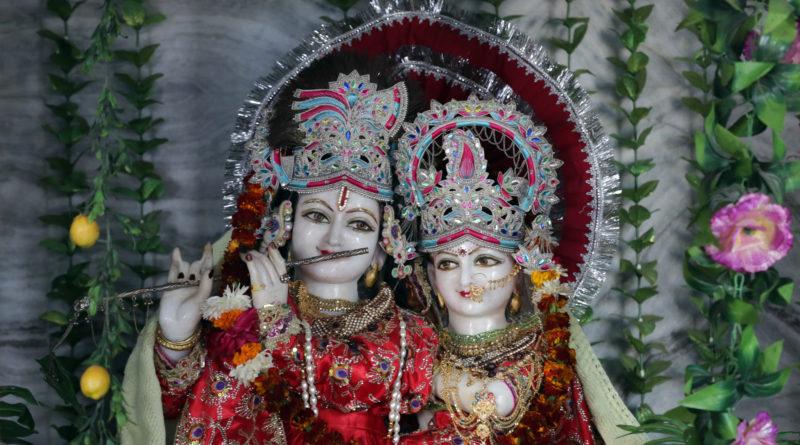 Радха-Кришна. Вриндаван. Индия