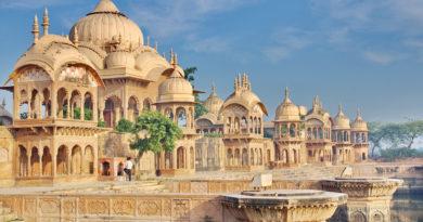 Кусум-саровар. Вриндаван. Индия