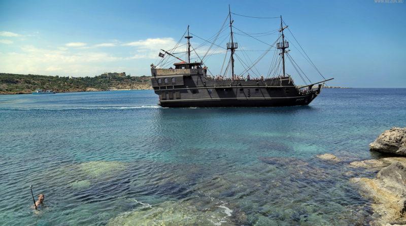 Пиратский корабль. Кипр