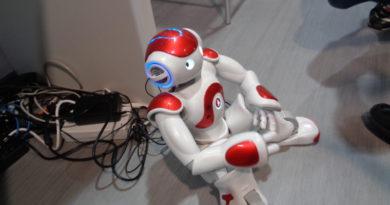 Робот. CEBIT-2016. Ганновер. Германия