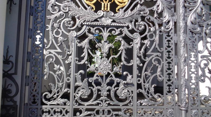 Ворота Зимнего дворца. Санкт-Петербург