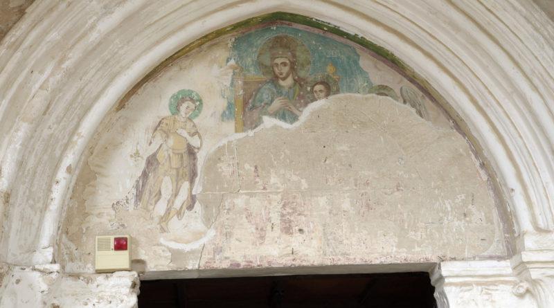 Кипр, храм, фреска, икона