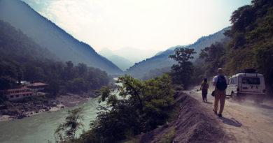 Дороги Ришикеша. Индия