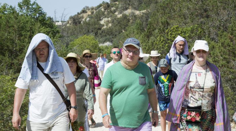 Рузов В.О. и участники ретрита на Кипре