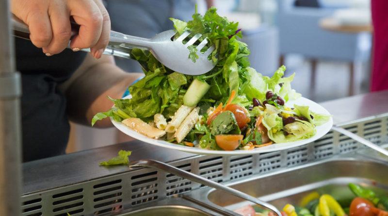 Вегетарианский обед на Кипре