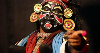 катхакали, керала, индия