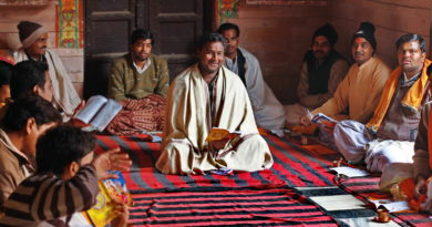 веды, брахманы, садху, Индия, Вриндаван