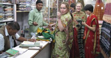 Магазинчик в Пури. Индия