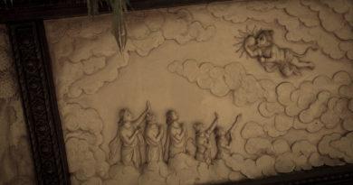 фреска, Рамаяна, Хануман