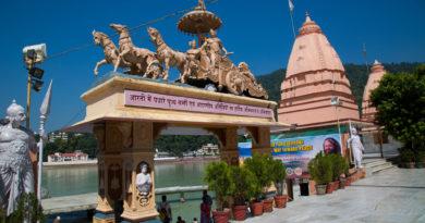 Ришикеш, Ганга, Арджуна, Кришна, колесница