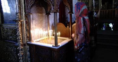 церковь, алтарь, свечи, молитва