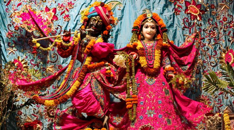 Кришна, Радха, божества