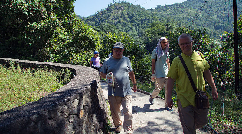 Путешествие по святым местам. Ришикеш. Индия