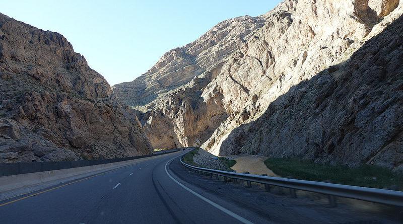 Дорога в каньоны. США