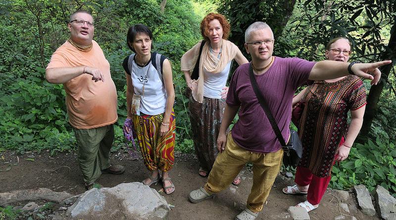 Ришикеш. Подъем к водопаду. Индия